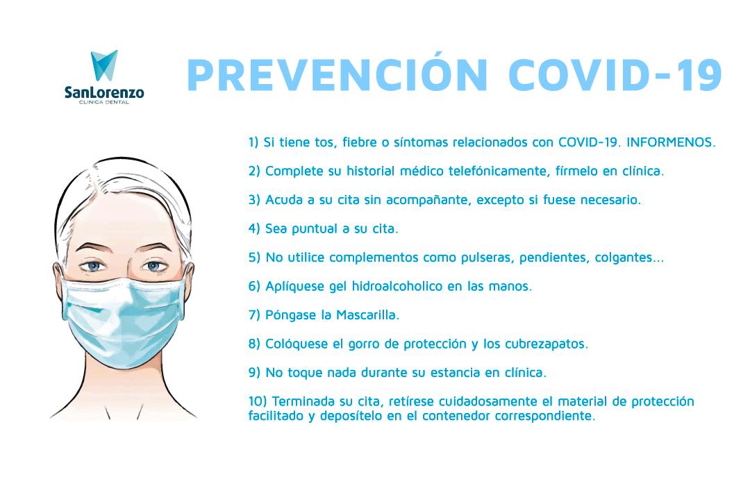 Prevención Covid-19 San Lorenzo Dental